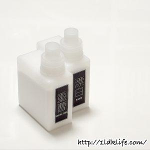 テプララベル例_重曹と粉末漂白剤