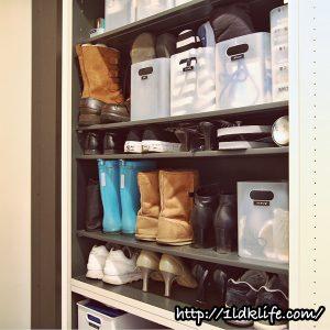 我が家の靴箱_上段