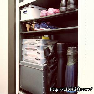 我が家の靴箱_下段