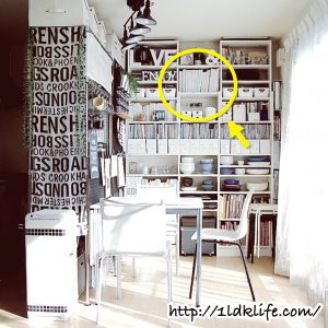 我が家の本棚。