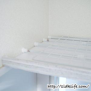 廊下の天井に作った棚の仕組み。