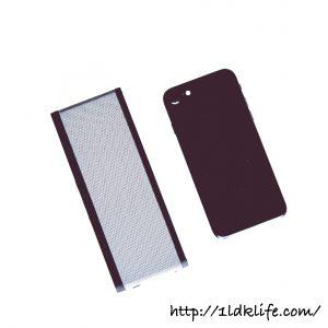 TaoTronics Bluetooth スピーカー TT-SK09 と iPhone7 を並べてみた