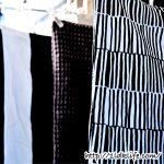 クッションカバーのお洗濯。