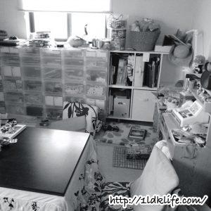 汚部屋写真02_リビング