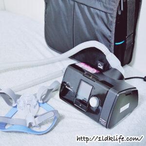 我が家に来た睡眠時無呼吸症候群治療用機器(CPAP)