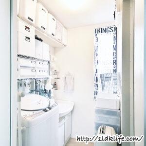 我が家の洗面所