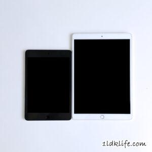 iPadPro10.5インチとiPadmini5