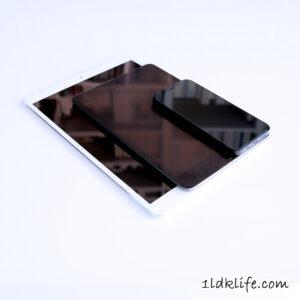 iPadPro_iPadmini_iPhone12_比較