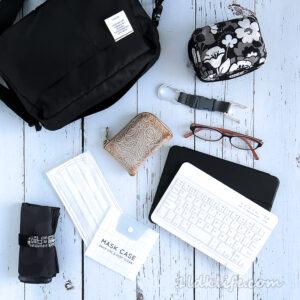 iPad miniにジャストサイズな軽いバッグ、デルフォニックスのインナーキャリングエアーM